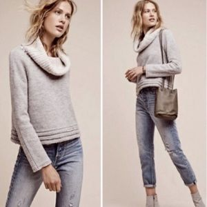 Anthropologie | Sleeping on Snow Wool Sweater M
